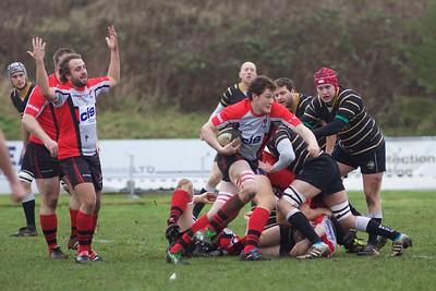 Cheltenham Rugby V Marlow 26th Jan 2013