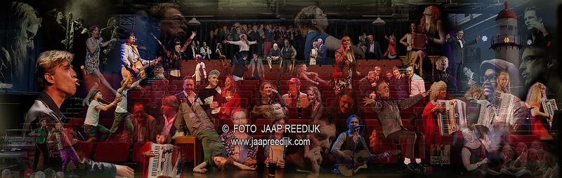 Wandontwep Jaap Reedijk theater Twee Hondjes Hellevoetsluis