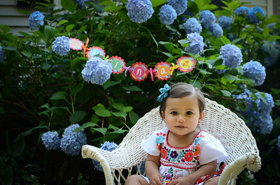Nina 1 year