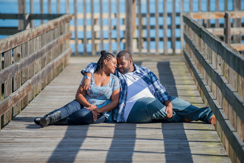 Brittany & Lamar's Engagement Session