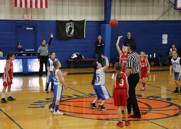 3-10-18 4th Grade Lightning vs. Allendale - WIN