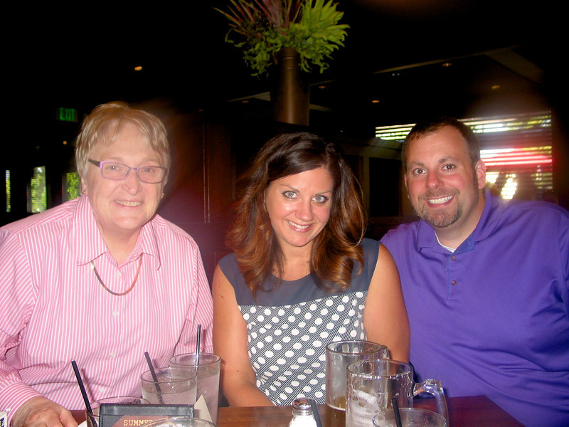 At Tavern on France with Kari and Ben