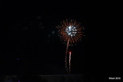 Wayzata Beach Bash fireworks 2015