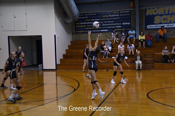 Volleyball vs Northwood-Kensett