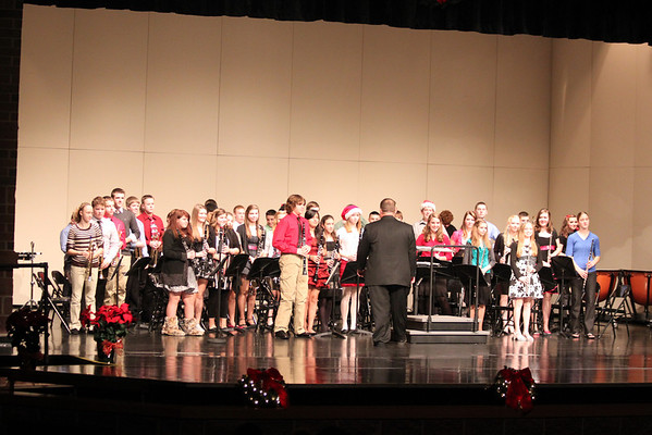 TMS 8th Grade Band Holiday Concert 2011