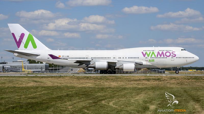 Wamos Air / Boeing B747-466 / EC-LNA