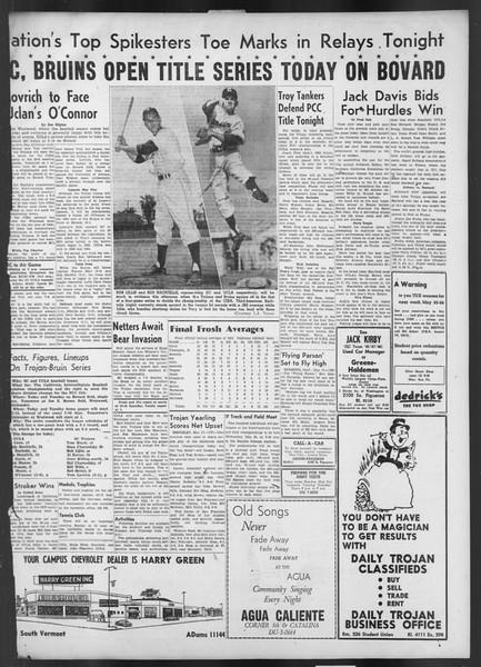 Daily Trojan, Vol. 42, No. 133, May 18, 1951