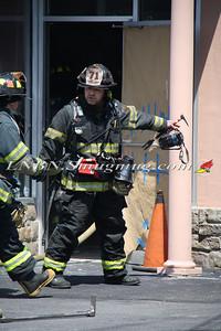 Copiague F.D. Building Fire 1051 Montauk Hwy 6-18-12