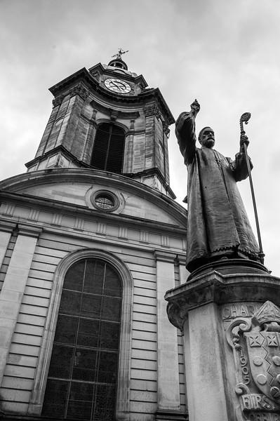 St Philip's Cathedral in Birmingham