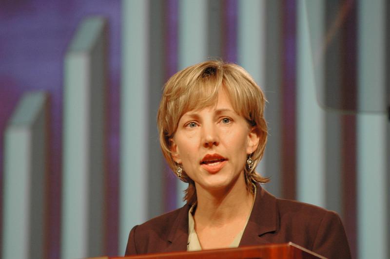 Treasurer of the ELCA, Christina Jackson-Skelton, gave her report during Plenary Session Five, Wednesday, Aug. 10.