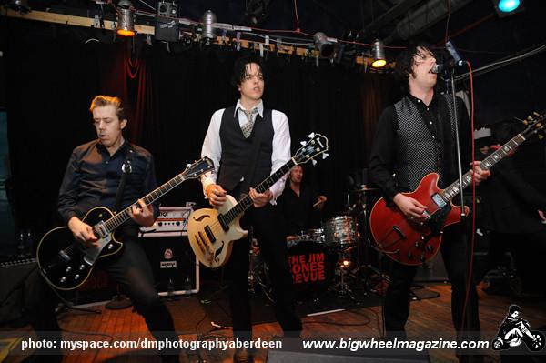 The Jim Jones Revue - at The Tunnels - Aberdeen, UK - April 18, 2010