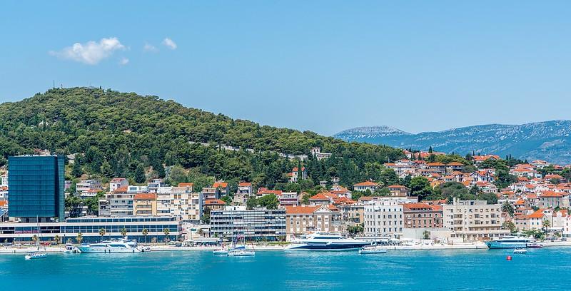 Marjan Hill in Split, Croatia