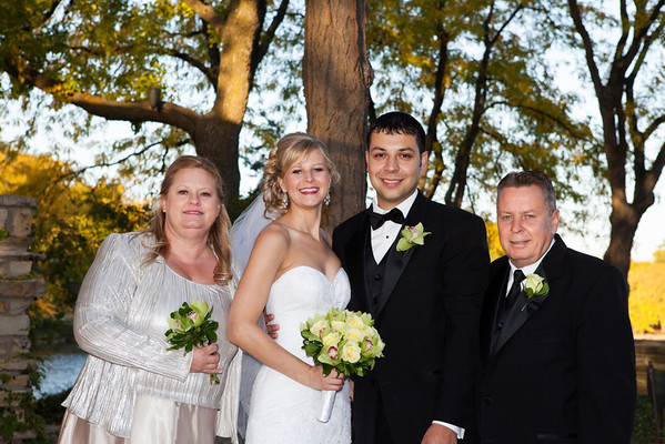 Jeff and Rachel Wedding - Family
