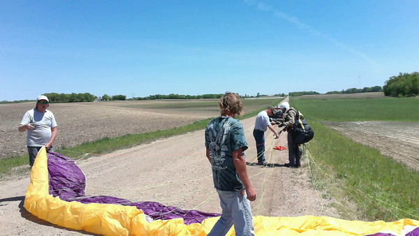 Paragliding in McLeod County