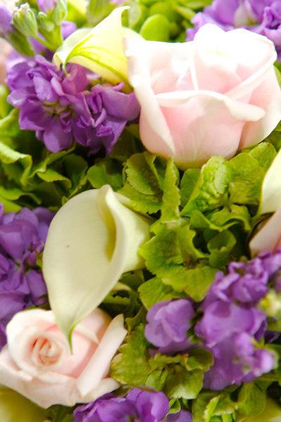 Bouquet detail.