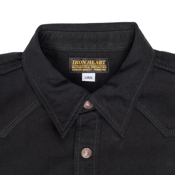 IHSH-166 - Superblack 12oz Selvedge Denim CPO Style Western Shirt-6222.jpg