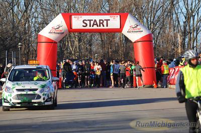 Start - 2014 Rock CF Rivers Half Marathon
