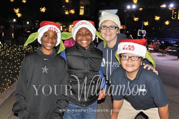 Franklin Christmas Tree Lighting