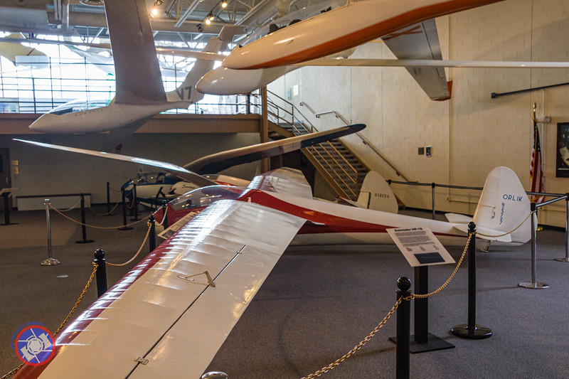 Sailplanes on Display at the National Soaring Museum (©simon@myeclecticimages.com)
