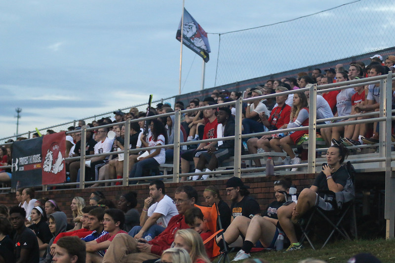 On Tuesday night, September 29th, students came out to support the mens soccer team in their game against Clemson. We suffered a devastating 0-4 loss after fighting hard for the win.