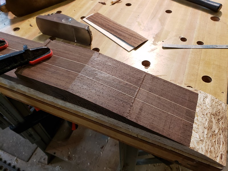 planing scarf joint
