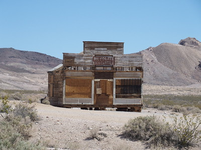 Rhyolite Ghost Town, NV near Death Valley National Park - 2014