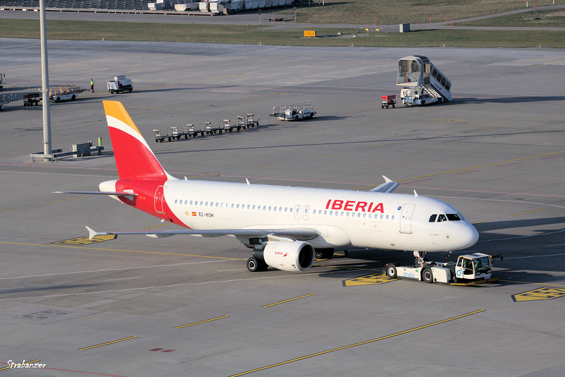 "Airbus A320-214 EC-KOH c/n 2248  ""Fontibre"" IBERIA