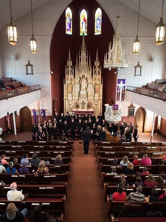 Choir Tour 2015:  Singing