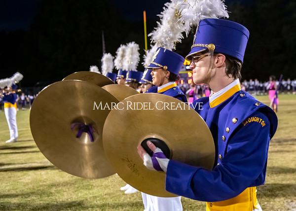 Broughton varsity football vs Cardinal Gibbons. Band and Dance Team Senior Night. October 25, 2019. MRC_3680