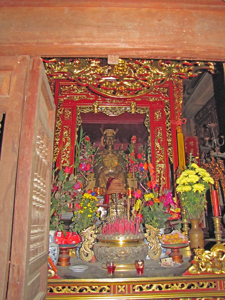 12-A newer shrine, 100 meters down the road