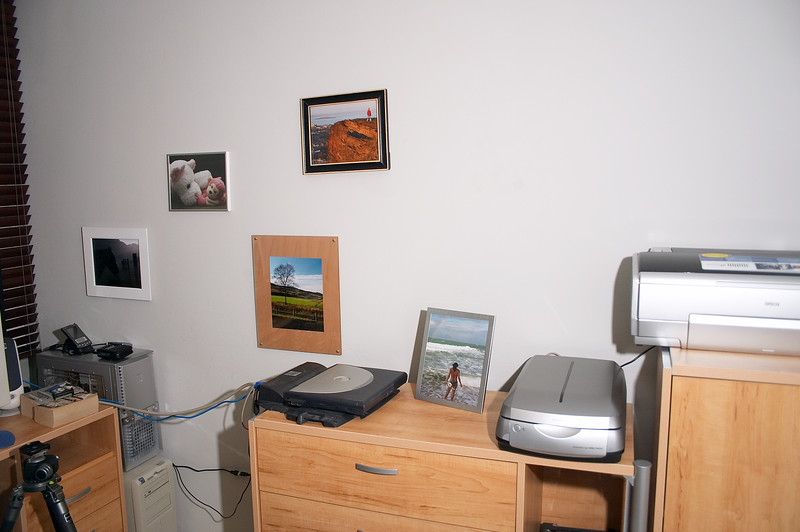 I've started putting up pictures on the walls. It's so much nicer