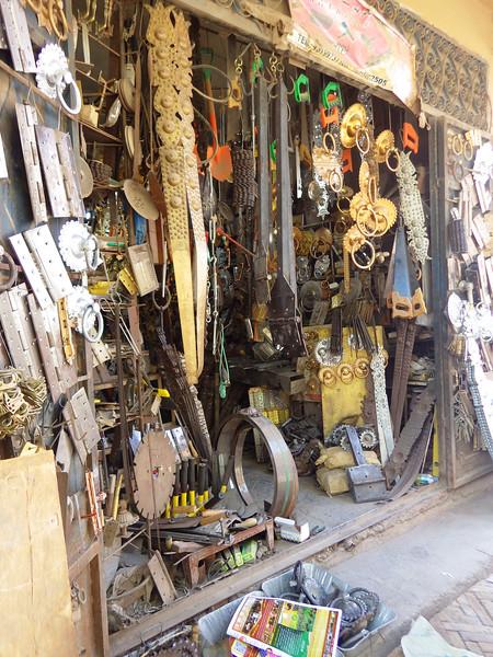 Kashgar's small businesses.