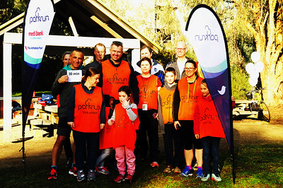 MH at Gardiner's Creek Parkrun