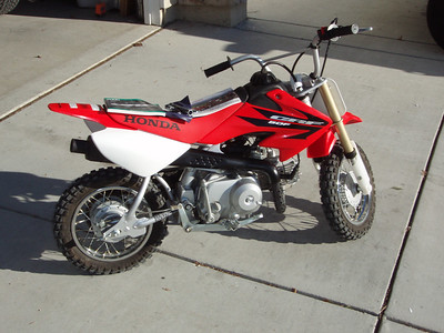 Honda '06 CRF50 for sale