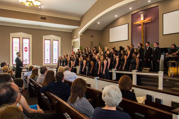 Choir at St. James United Methodist Church