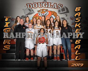 DHS Girls JV Basketball 2019