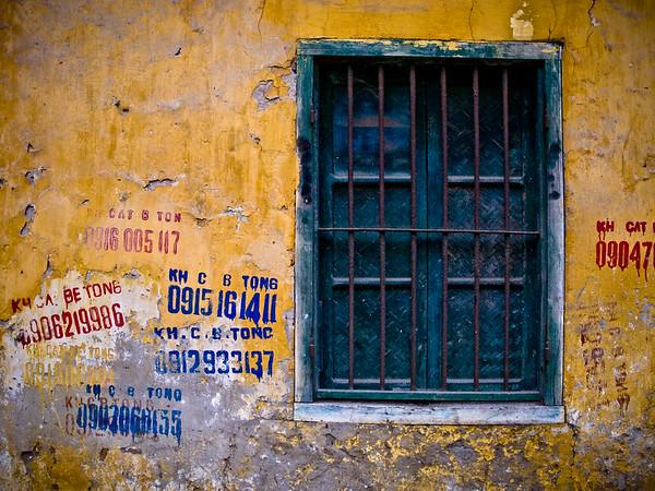 Advertisements-Street Scene-Hanoi-Vietnam