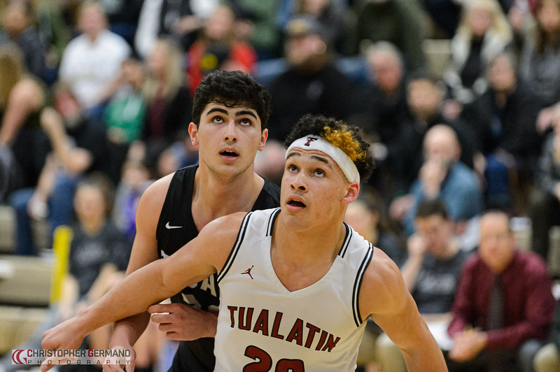 THS Boys Varsity Basketball vs Tualatin -Away