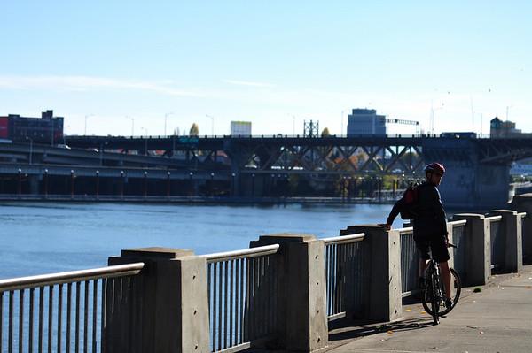 Portland on a Bike