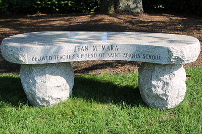 Dedication of Jean Mara Bench