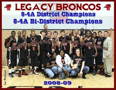 Legacy Mens Varsity vs Southwest - Bi-District Playoff - 2008-09