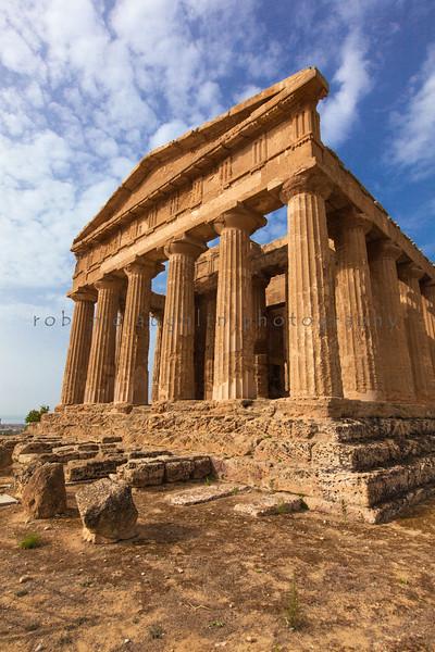 Temple of Concordia , Agrigento , Sicily