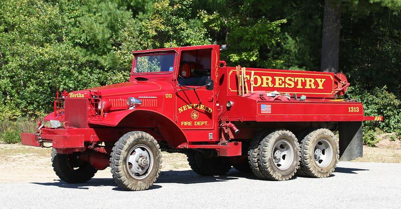 Forestry 1.  1945 International 6x6   250 / 500