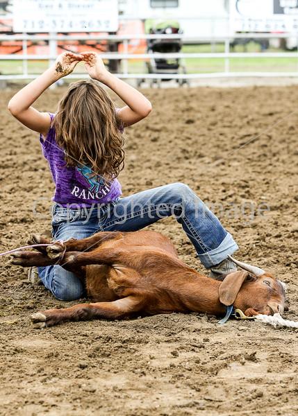 Goat Tying-Girls