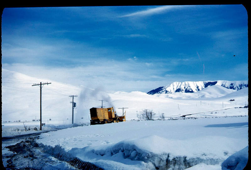 snow plow, idaho