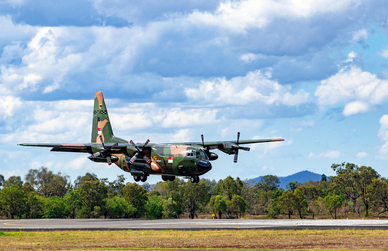 Exercise Wallaby 2018 - C130H Hercules