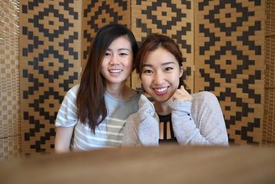 Jaden with friend