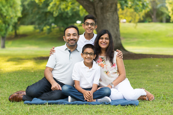 Pandey Family 6.24.17