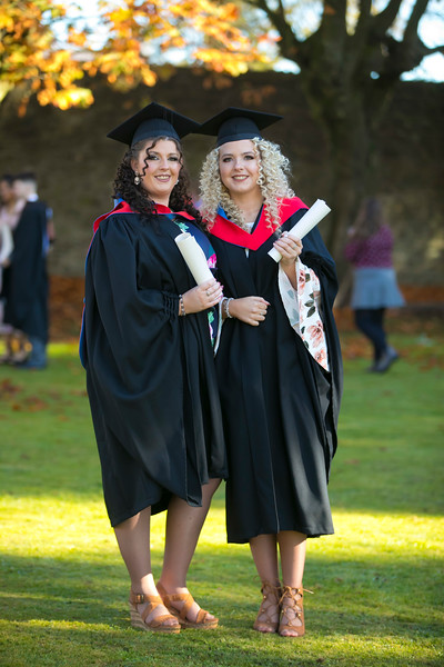 01/11/2018. Waterford Institute of Technology (WIT) Conferring Ceremonies 2018.Pictured are Amanda and Sandra Kelly from Ballywilliam, Co. Wexford. Picture: Patrick Browne