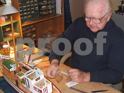 Frank Kennedy Makes Model Ships - January 2007